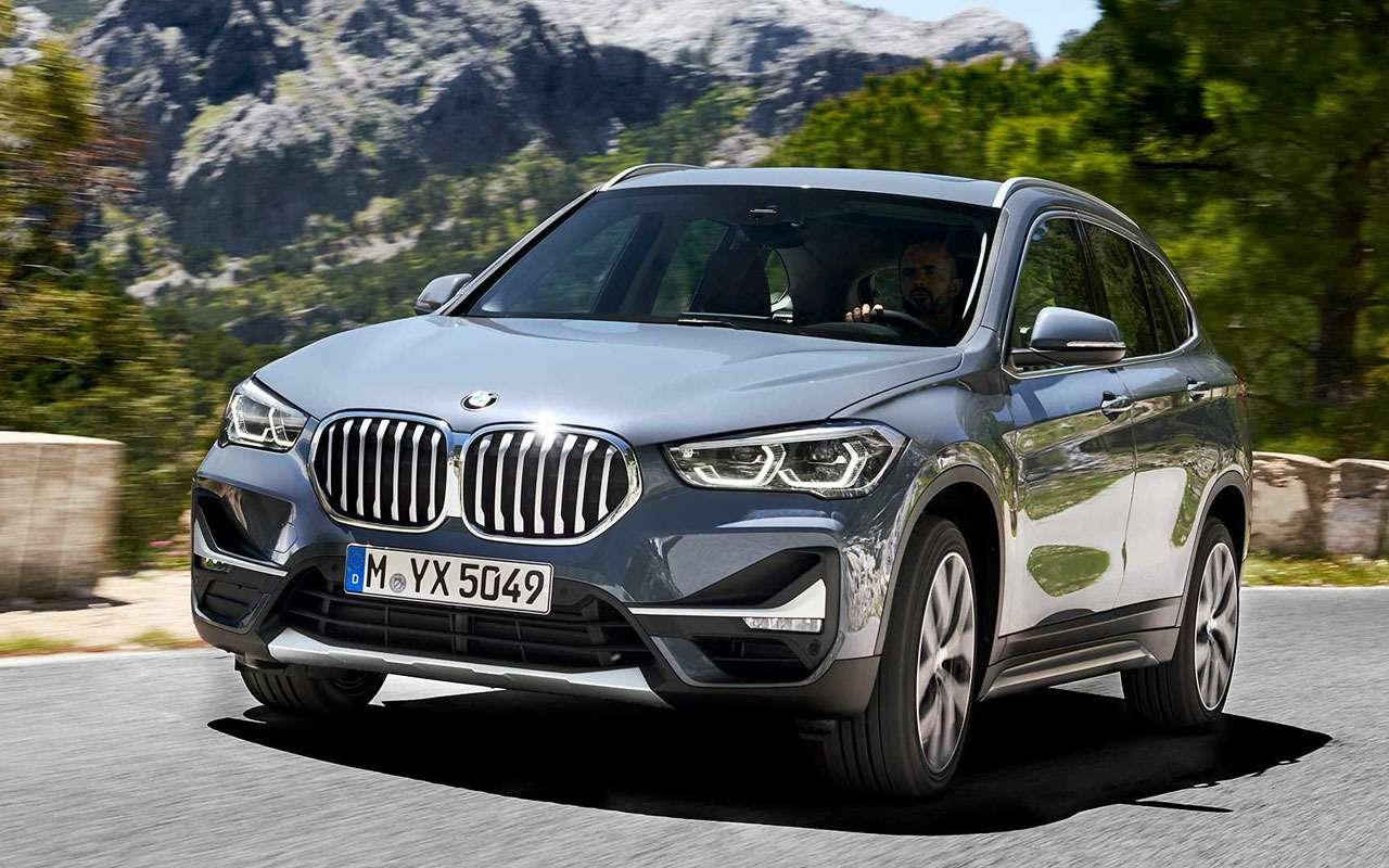 Квадратный подбородок: BMW обновил кроссовер X1— фото 977259