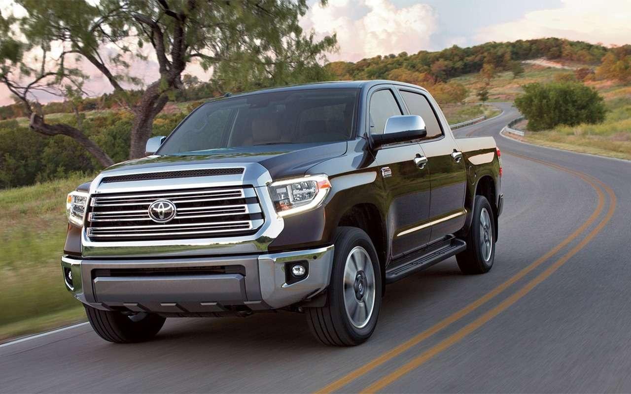 10невиданных вРоссии моделей Toyota— фото 872653