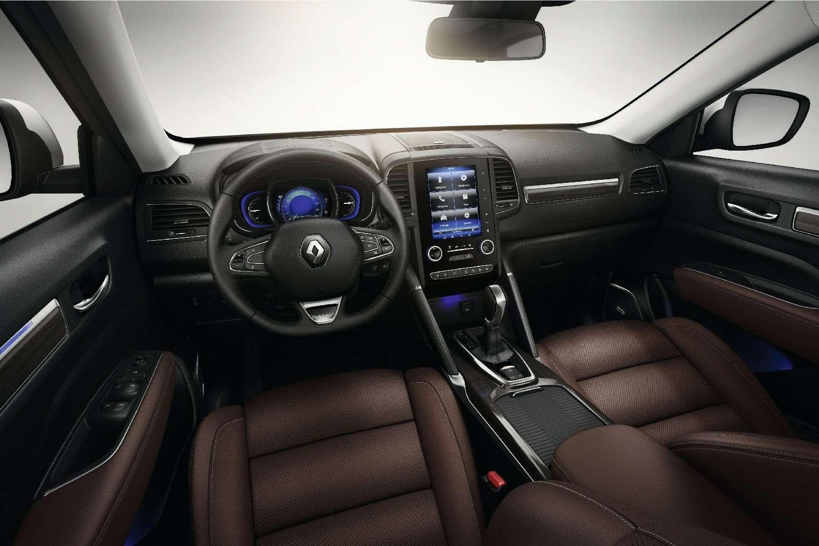 Новый Renault Koleos: только 5мест икитайская сборка— фото 580032
