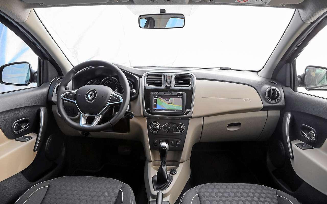 Большой тест обновленных бюджетников: Лада Гранта против Renault Logan— фото 914265