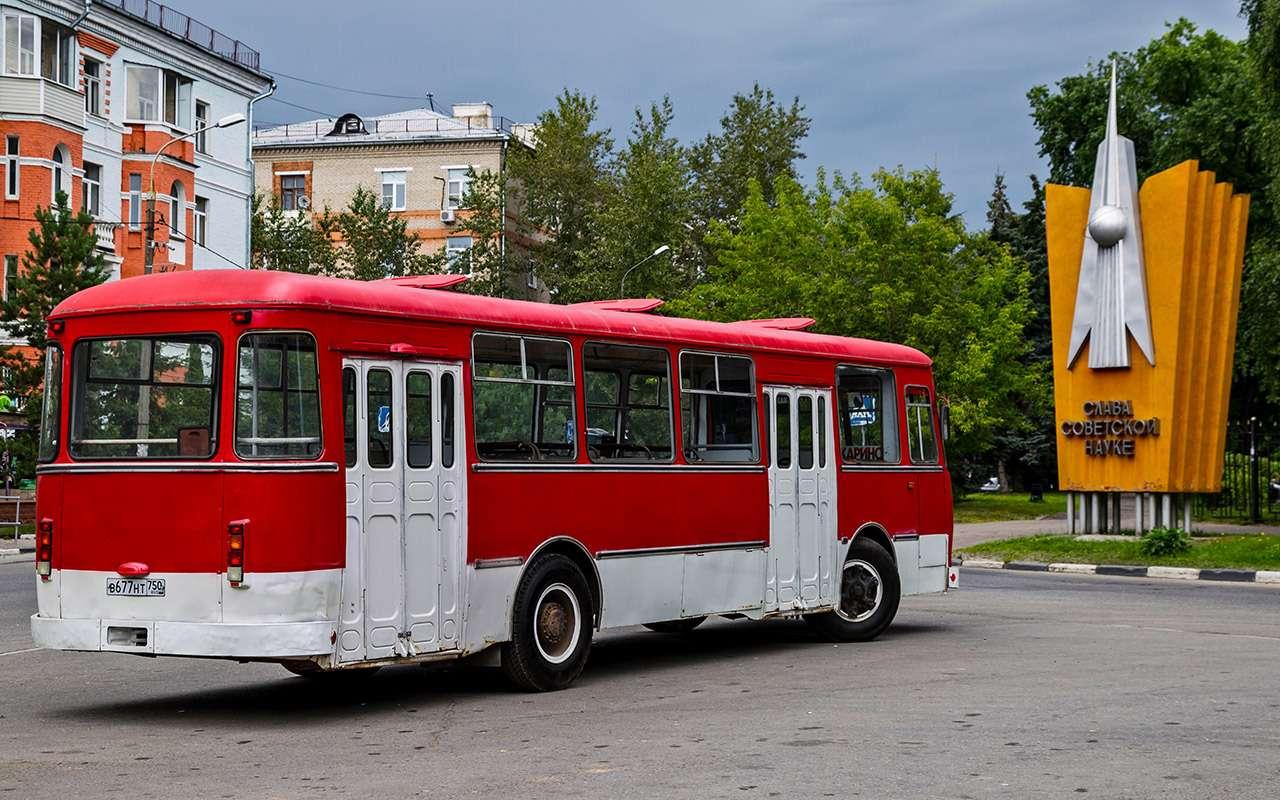 Автобус ЛиАЗ-677— ретротест под«звон бутылок»— фото 793187