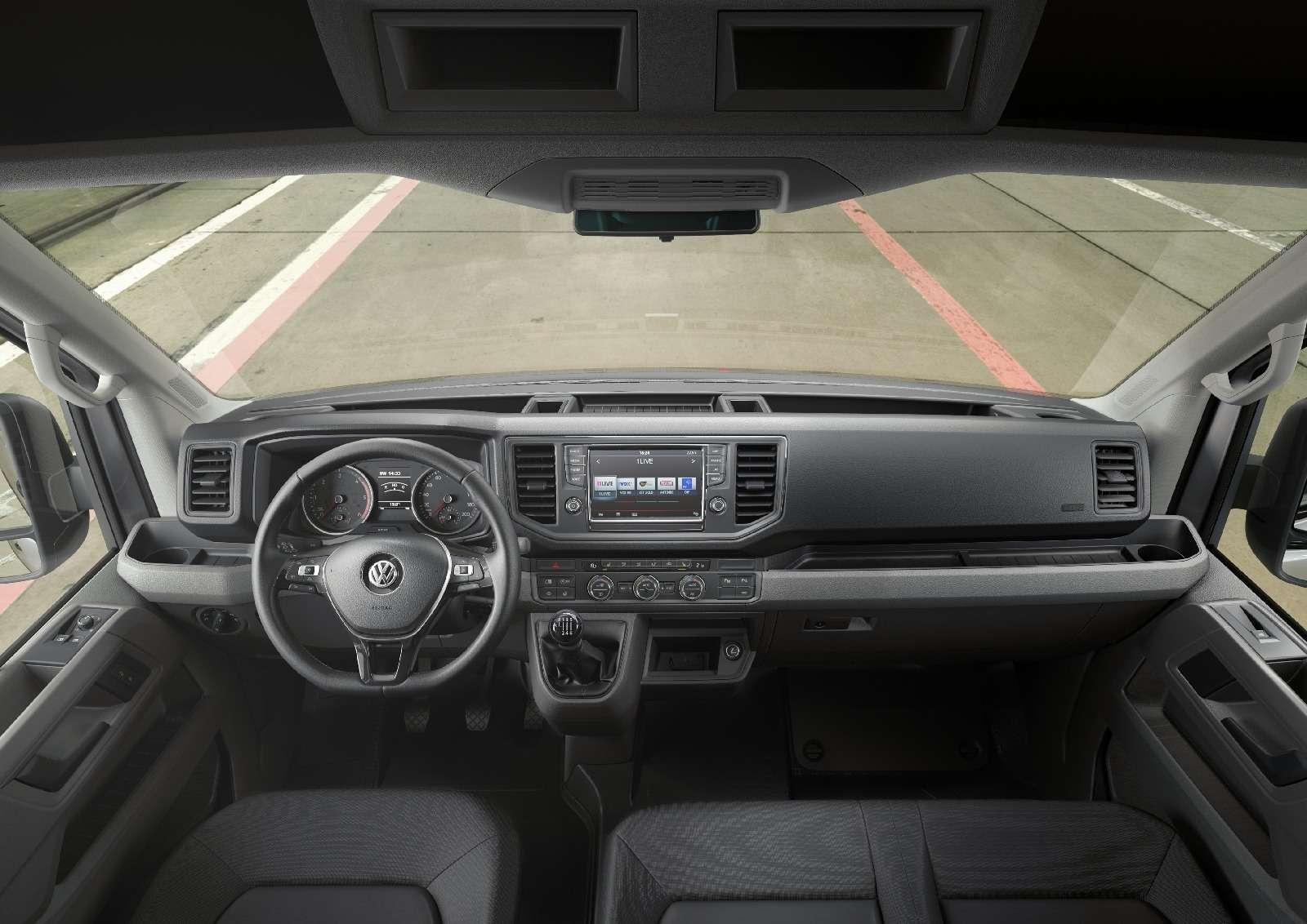 Новый VWCrafter: первые фото ипервые цифры— фото 613183