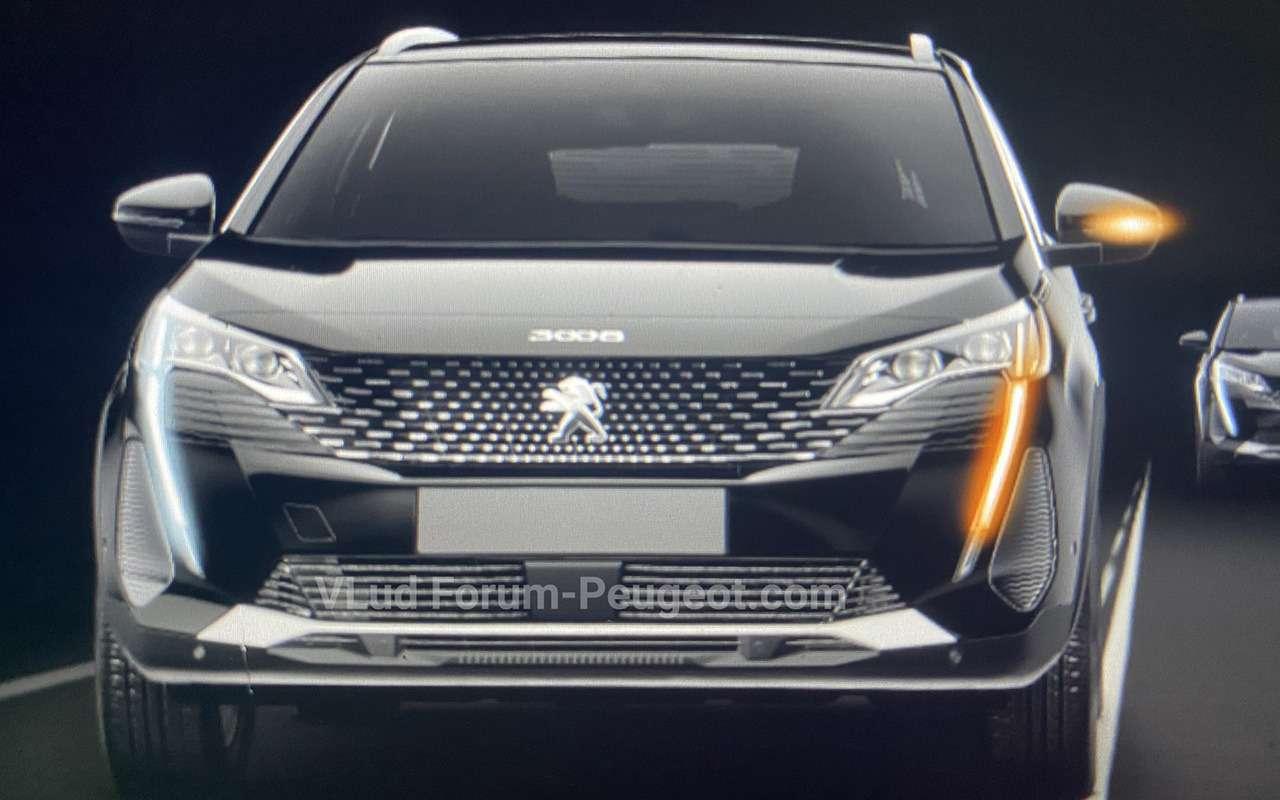 Обновленный Peugeot 3008: неофициальные фото - фото 1162235