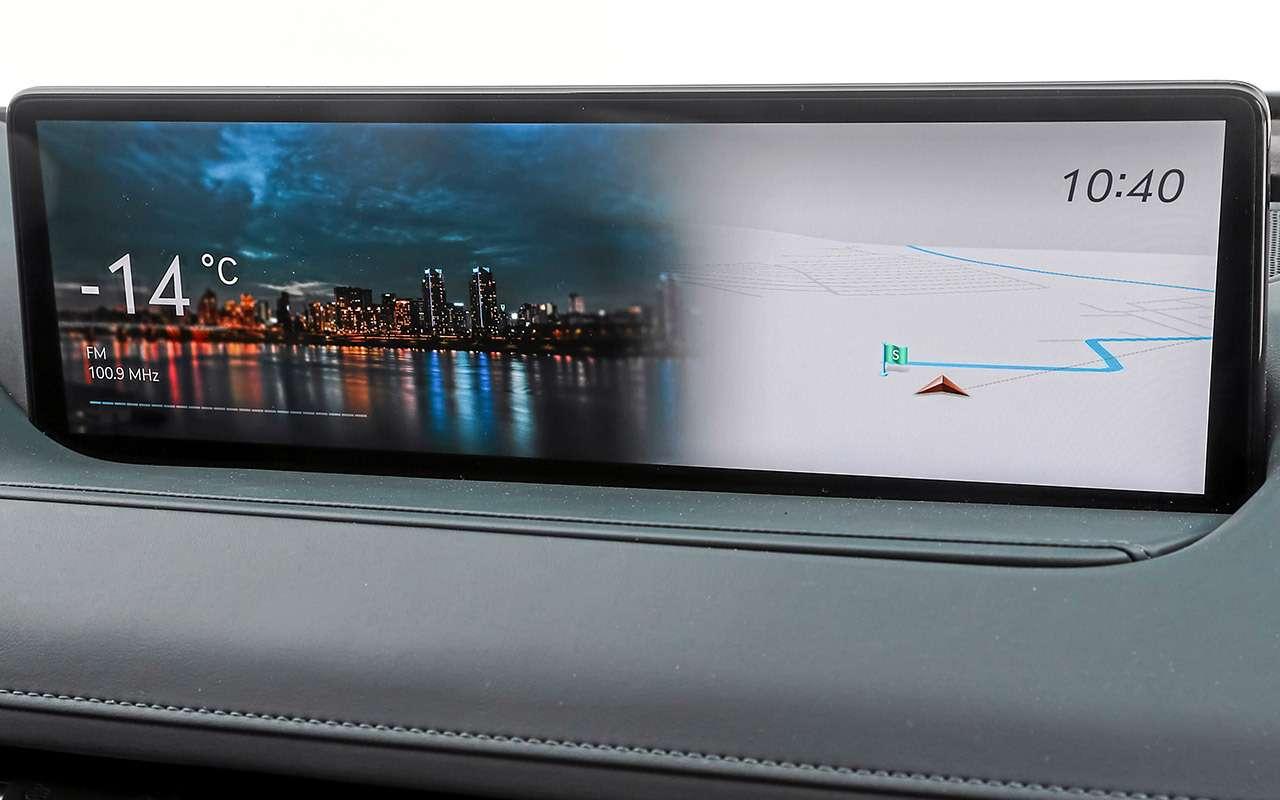 Тест бизнес-седана Genesis G80— фото 1247112