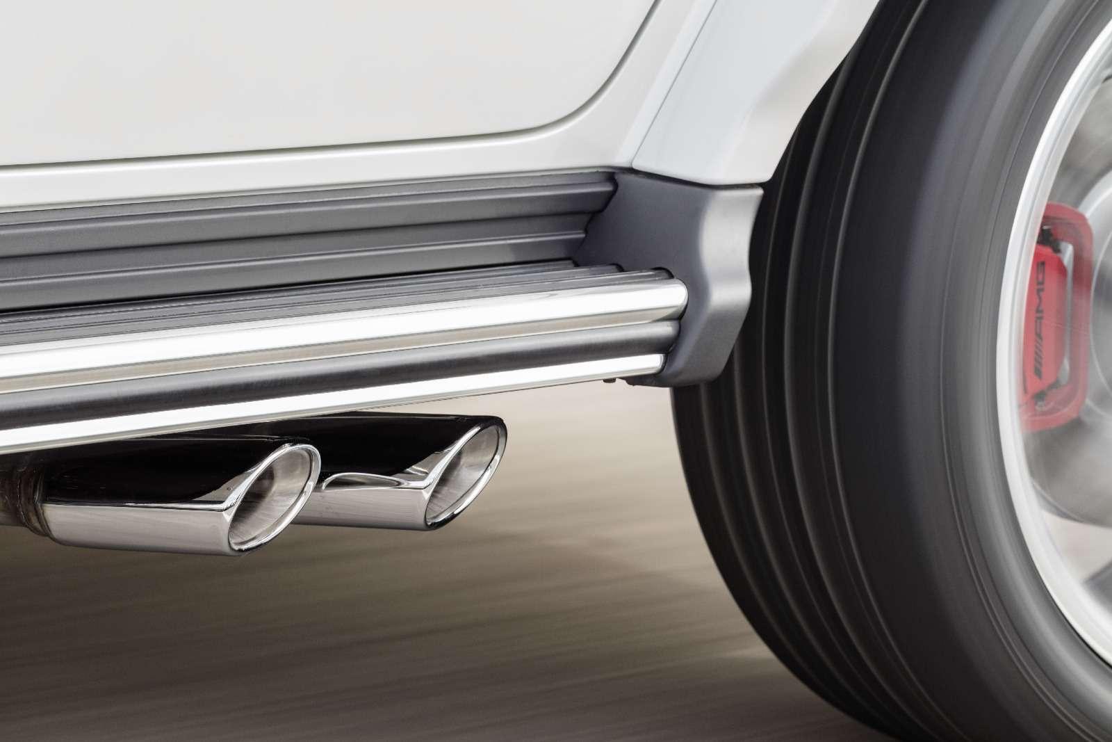 Мажорваген: представлен новый Mercedes-AMG G63— фото 844648