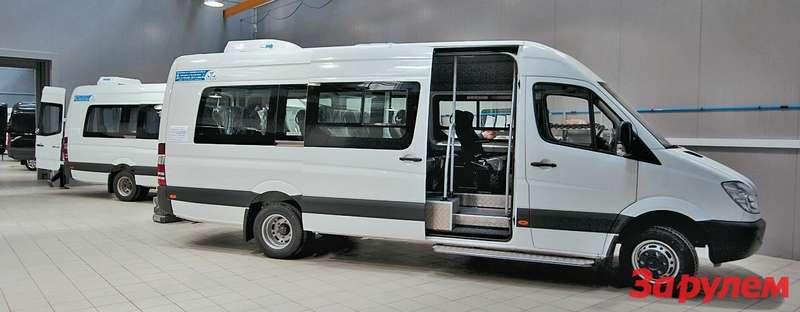 Одной изкомпаний, переоборудующих фургоны вавтобусы, является «Луидор», унее качество переделок вполне соответствует марке производителя автомобиля