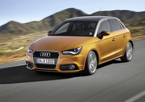 Audi A1Sportback Sline/Fahraufnahme