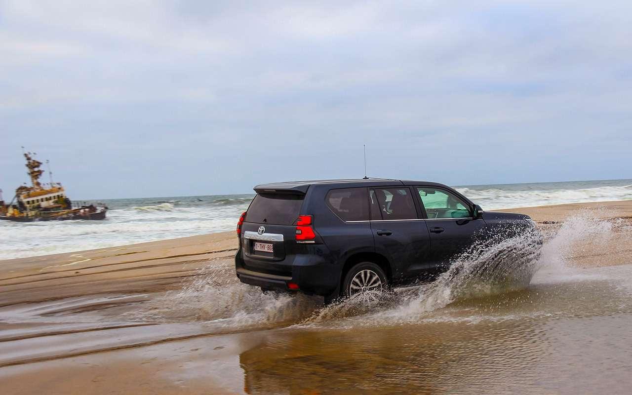 Toyota Land Cruiser Prado: онивАфрике Прадо!— фото 863383