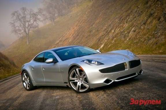 Fisker Karma side-front view