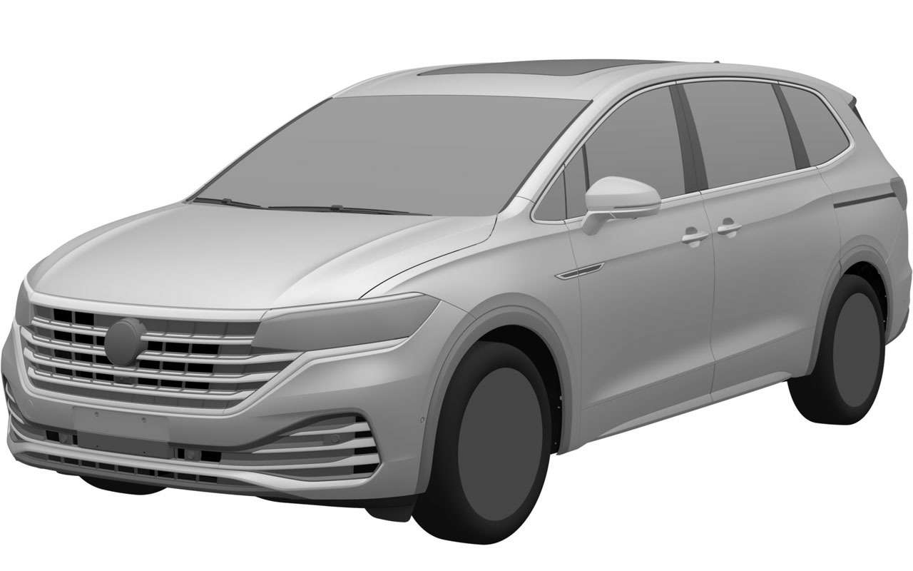 VWзапатентовал вРоссии новую модель— Viloran— фото 1165766