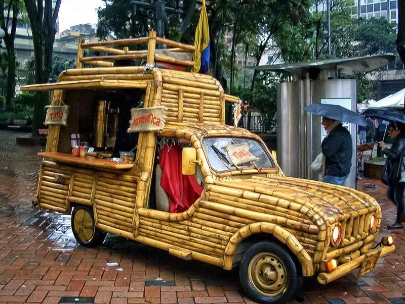 Бамбуковая машина колумбийца Хосе Маурицио Пардо