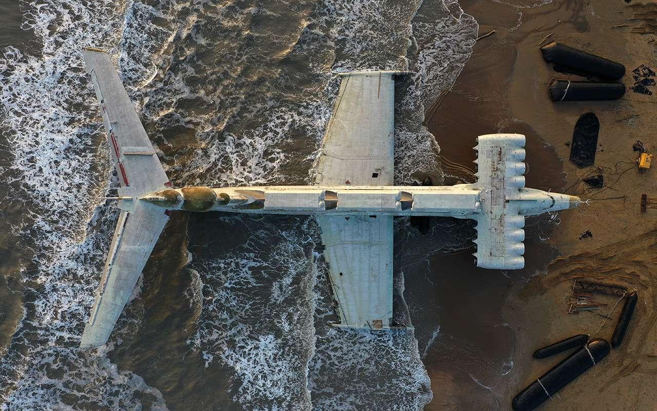 Экраноплан «Лунь»: хватало одного, чтобы разбомбить авианосец— фото 1234315