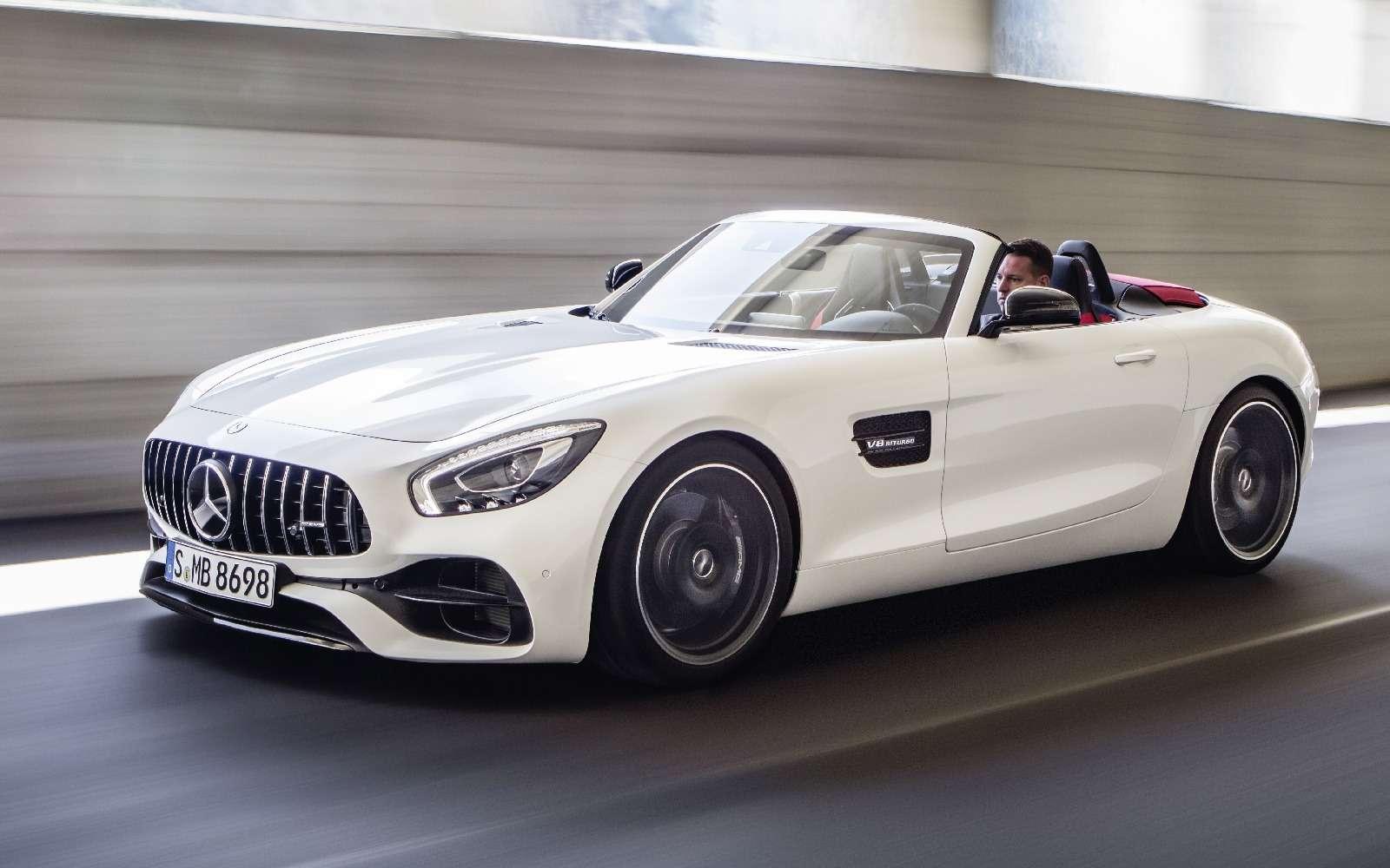 Mercedes-AMG GTRoadster: витамин С— фото 635001