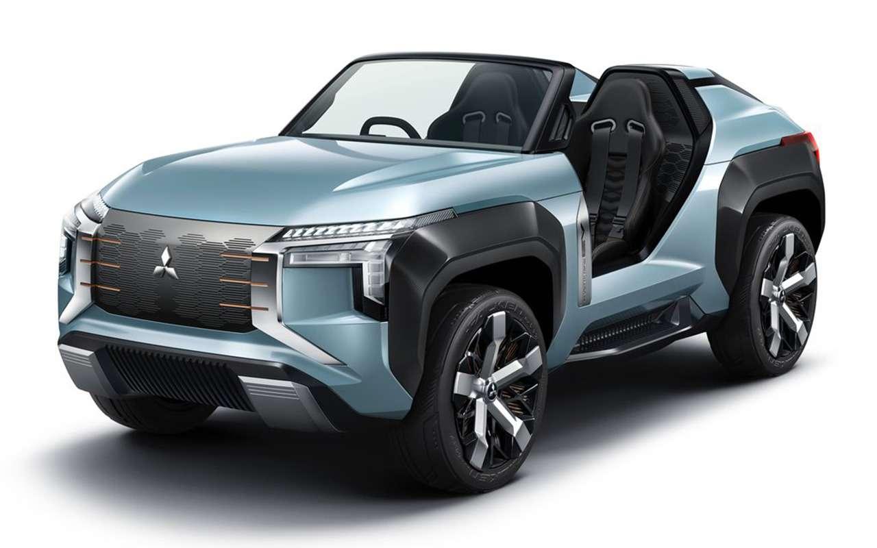 Багги Mitsubishi MI-Tech Concept может потреблять солярку, керосин идаже спирт— фото 1004176
