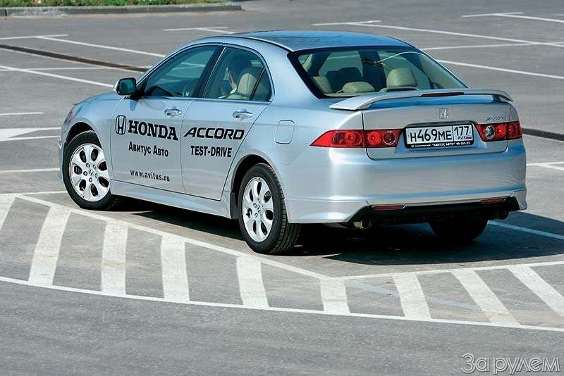 Тест Honda Accord. Мыждем перемен...