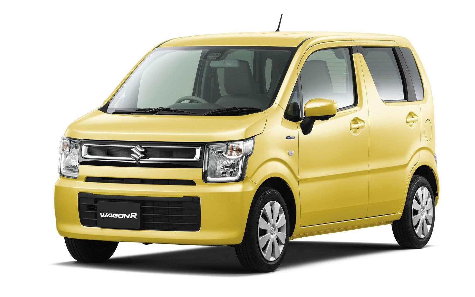 Новый Suzuki Wagon R: слюбовью кАмерике— фото 701843