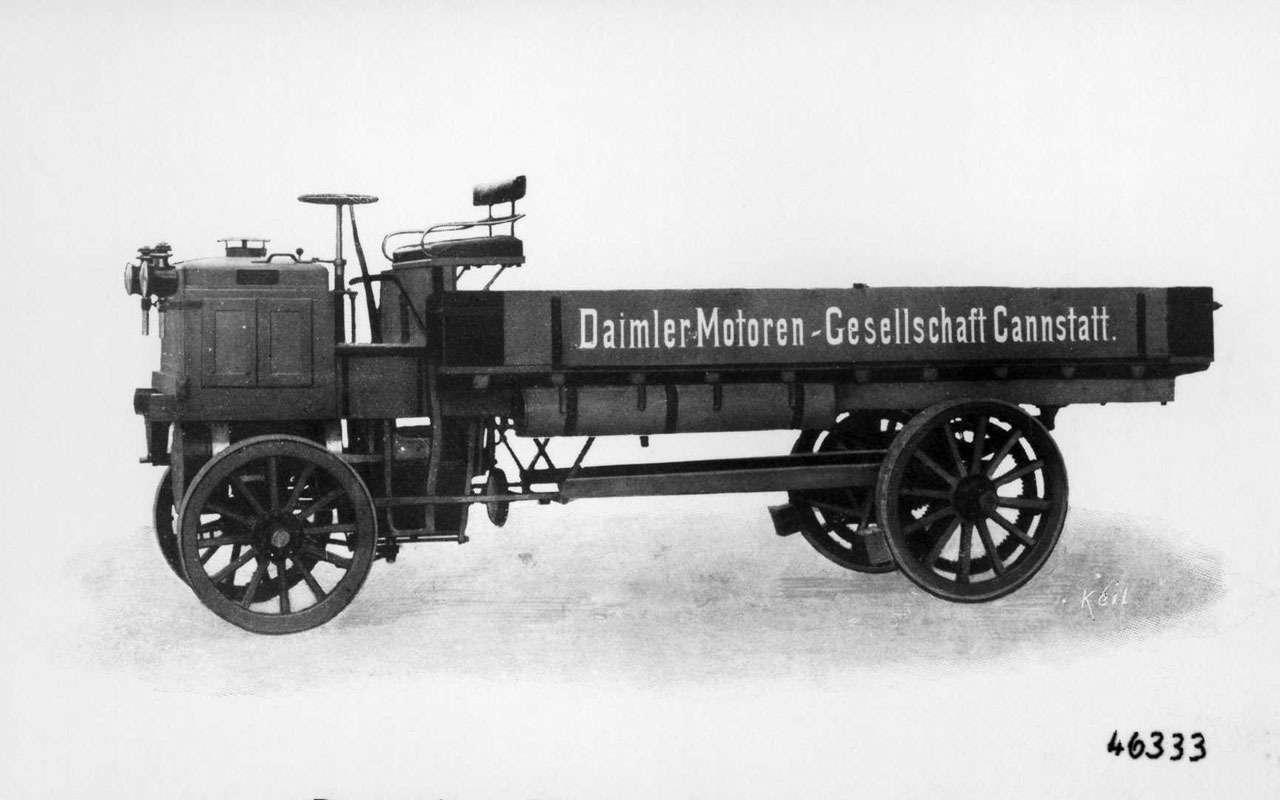 Кто построил самый первый вмире грузовик— фото 1239012
