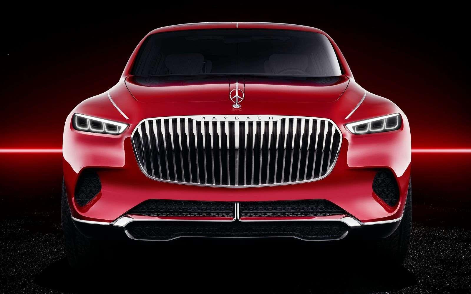 Кросс-седан Mercedes-Maybach Ultimate Luxury: золото, чайник, электричество— фото 865357