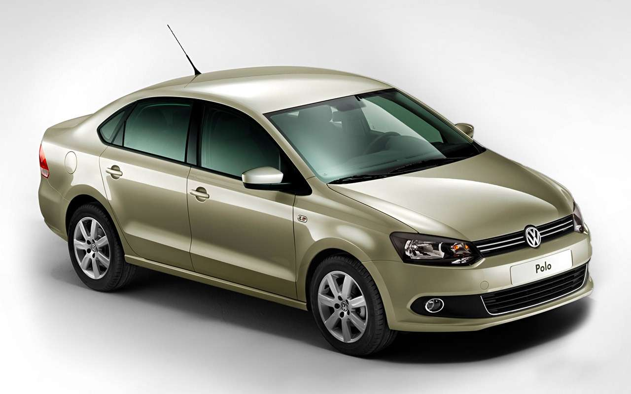 Volkswagen Polo Sedan спробегом: полный список проблем— фото 976722