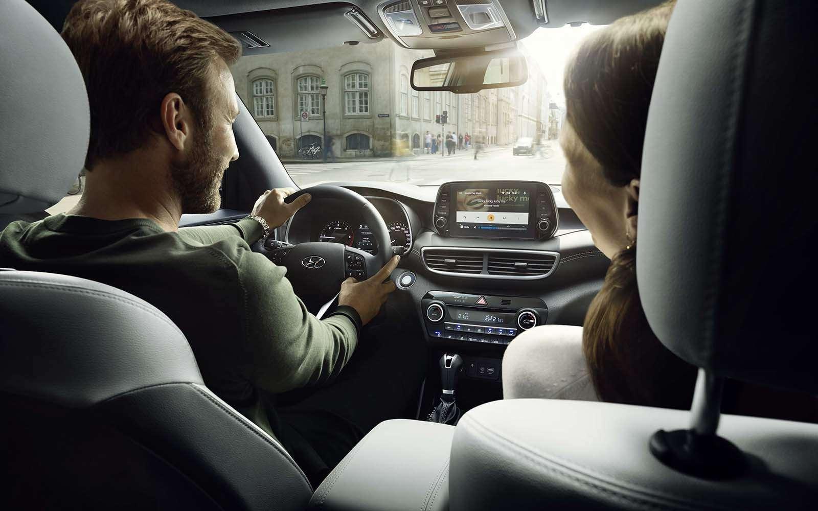Hyundai объявил рублевые цены наобновленный Tucson— фото 891828