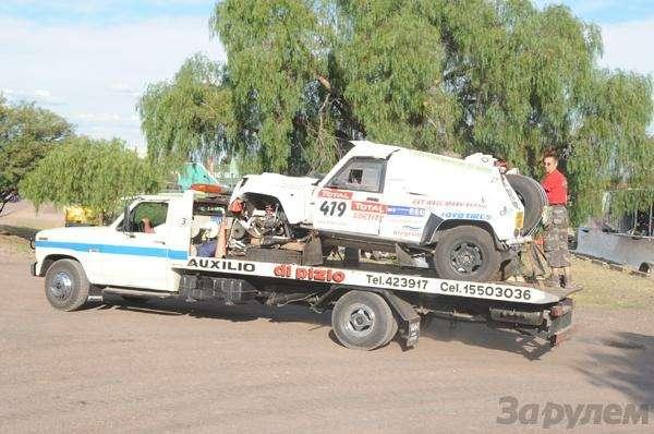 Дакар-2009: Отдых не длявсех— фото 6011