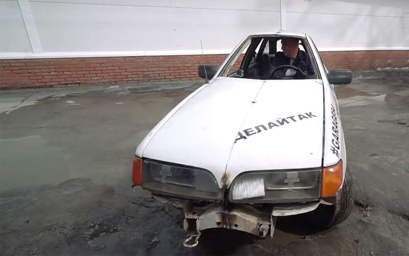 В России сделали идеальный автомобиль дляпробок