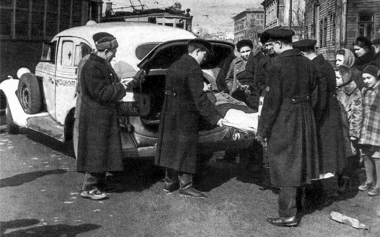 Уникальная Победа ГАЗ-М20: ретротест машины cкорой помощи— фото 1085335