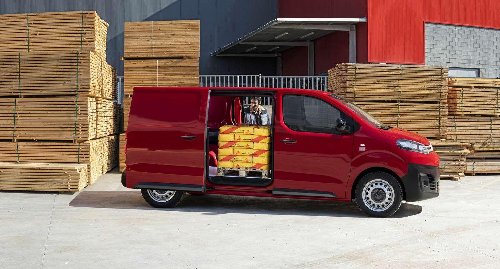 Новые Peugeot Expert иCitroen Jumpy приедут вРоссию вэтом году— фото 691291