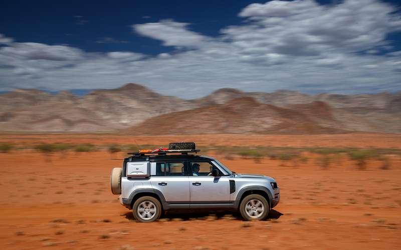 Новый Land Rover Defender— проверено нами иАфрикой