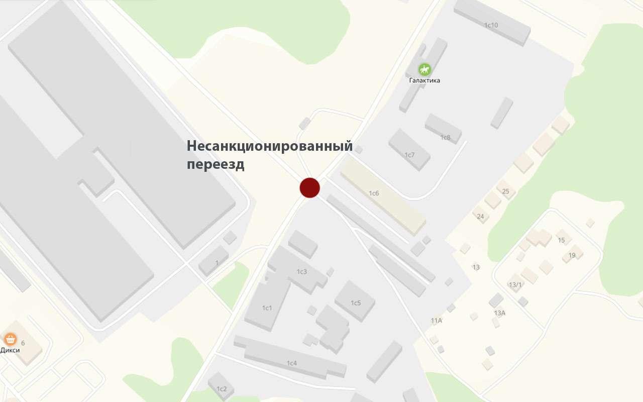 РЖДотрежет отцивилизации поселок вПодмосковье, закрыв ж/д переезд. Говорят, его несуществует!— фото 1009065