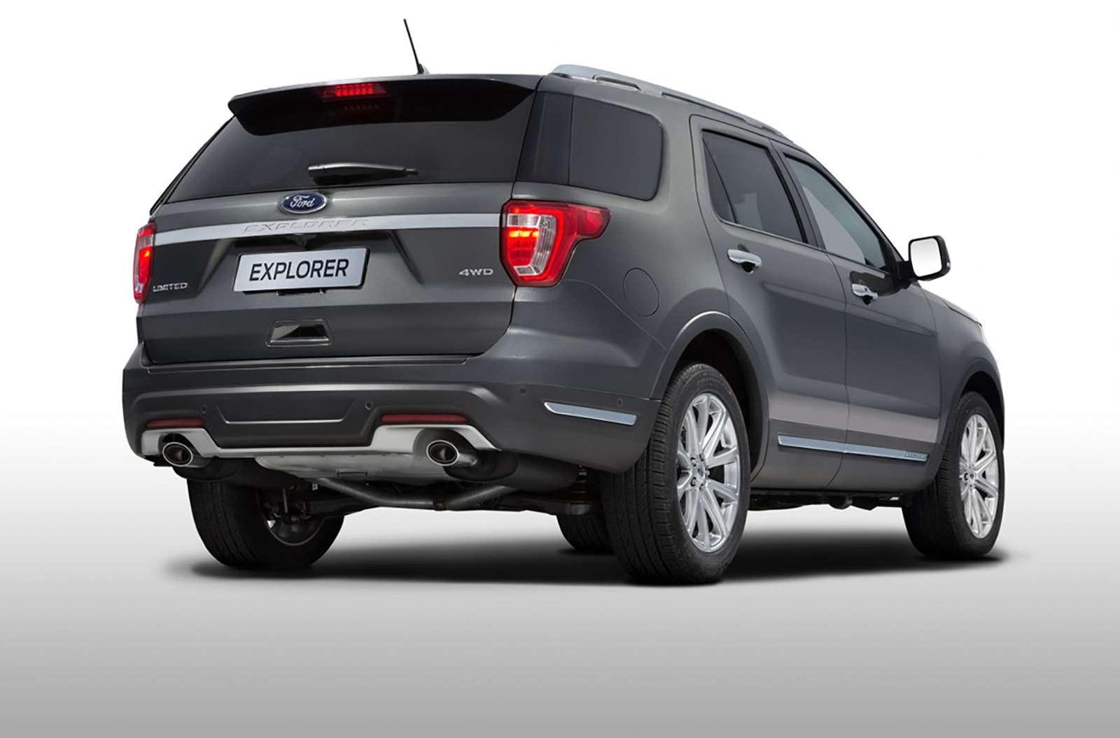 Ford рассказал обобновленном Explorer дляРоссии— фото 840141