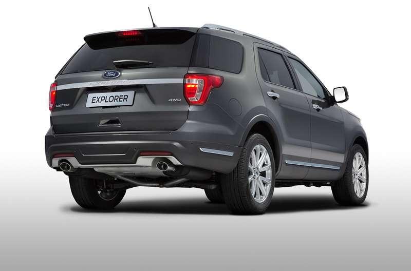 Форд поведал о русской версии кроссовера Explorer