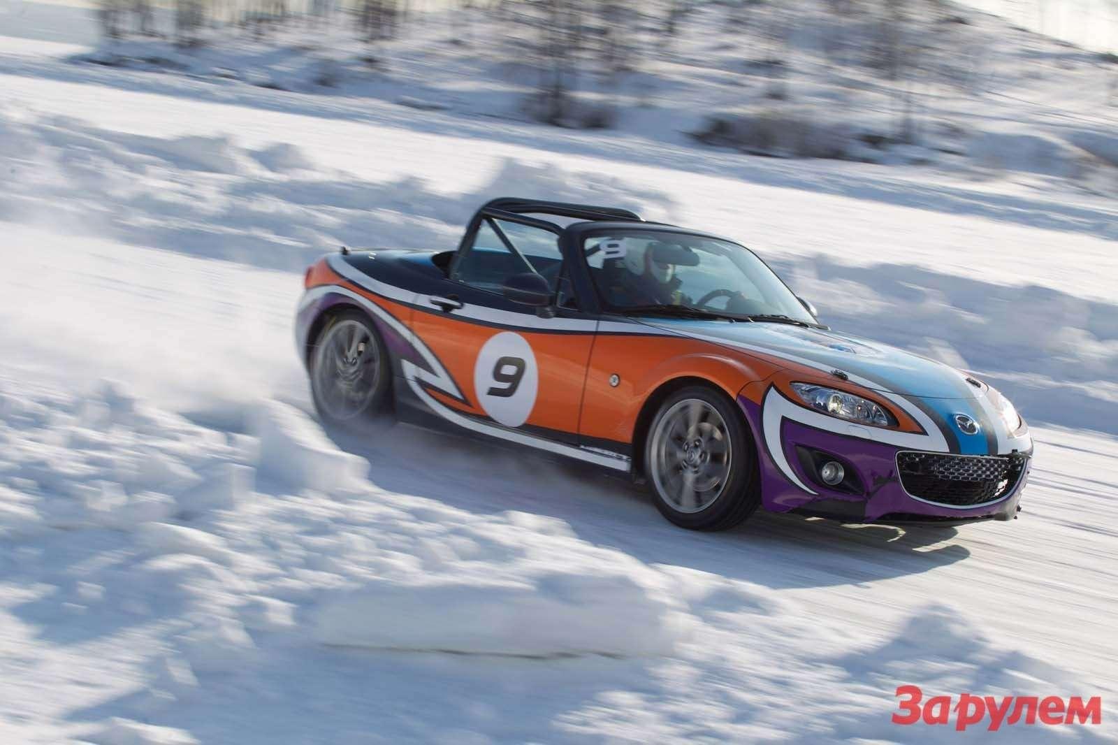 Mazda MX5Ice Race 2013     62