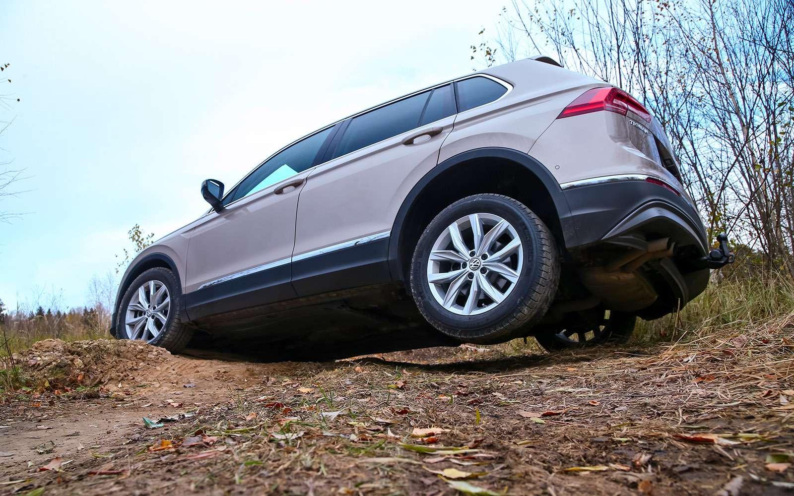 Новый Tiguan, CX-5или Sportage? Битва неравных— фото 670885