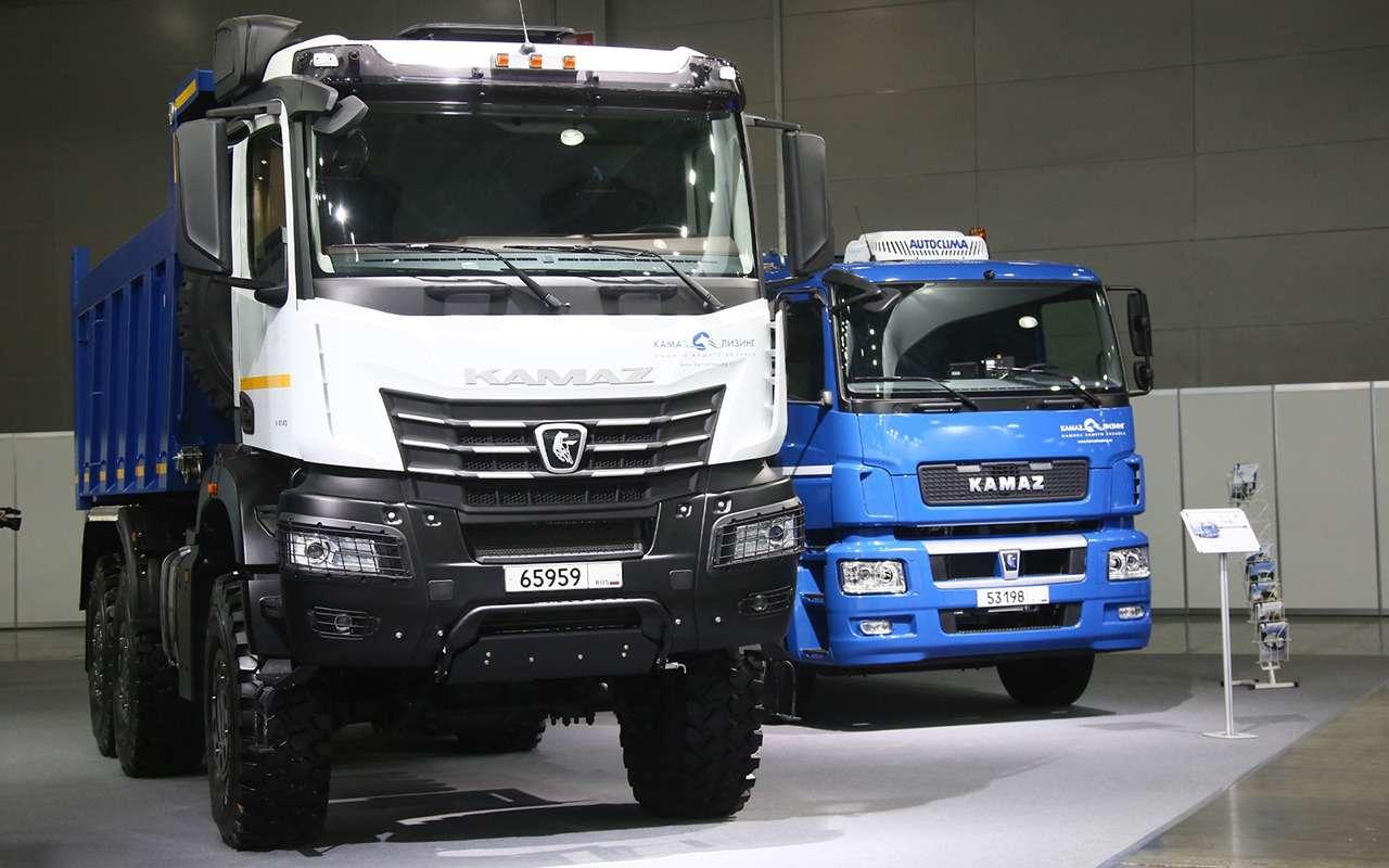 КАМАЗ-6595— лучший среди строительных грузовиков— фото 1277712