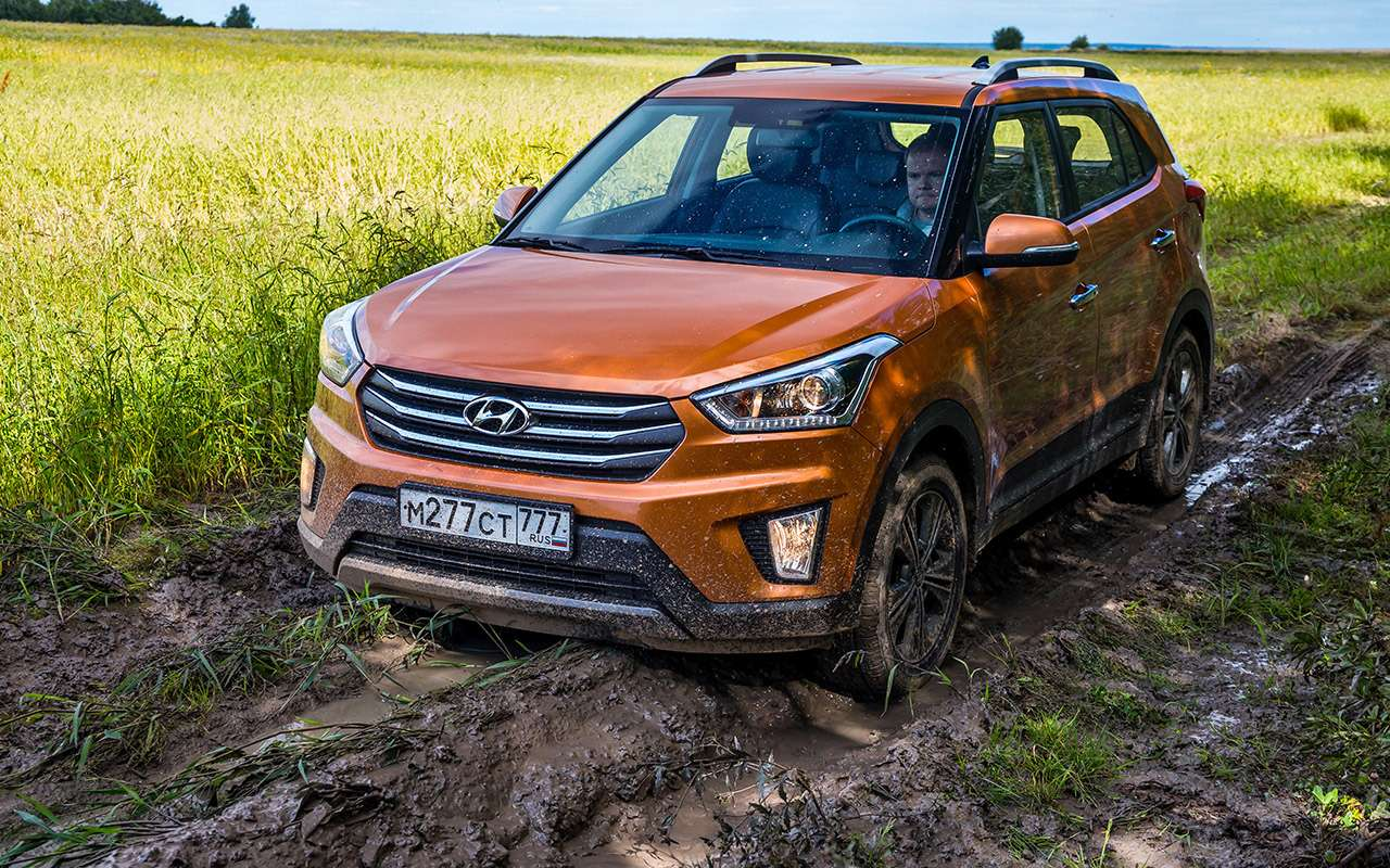 Hyundai Creta или Renault Koleos: чей полный привод круче? Часть 1— фото 825550