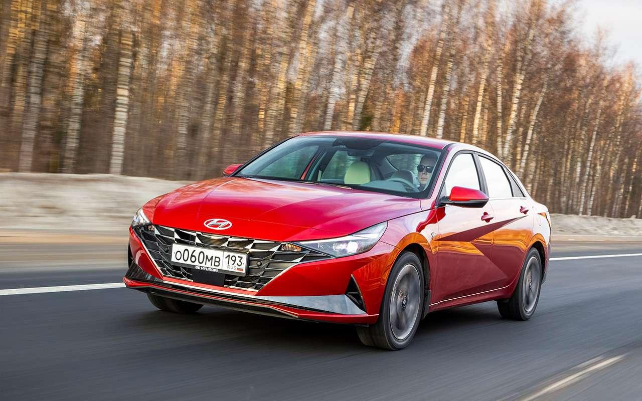 Новая Hyundai Elantra - тест российской глубинкой