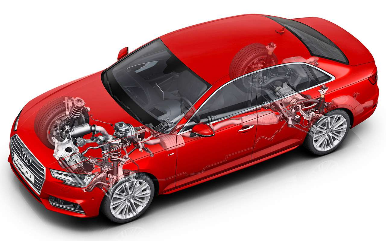 Genesis G70 против Audi A4и Jaguar XE— большой тест— фото 894714