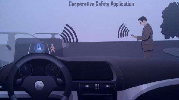 no copyright honda pedestrian detection system