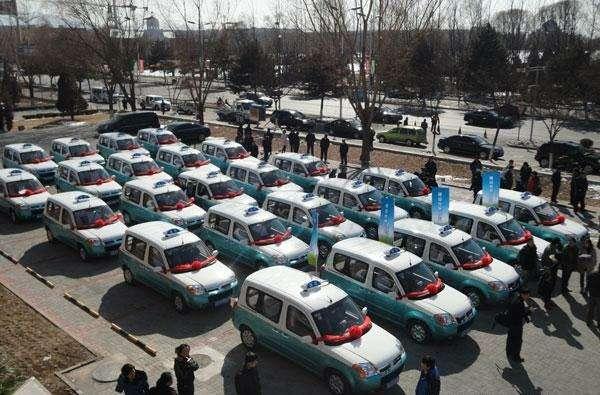 В Пекине появились электрические такси