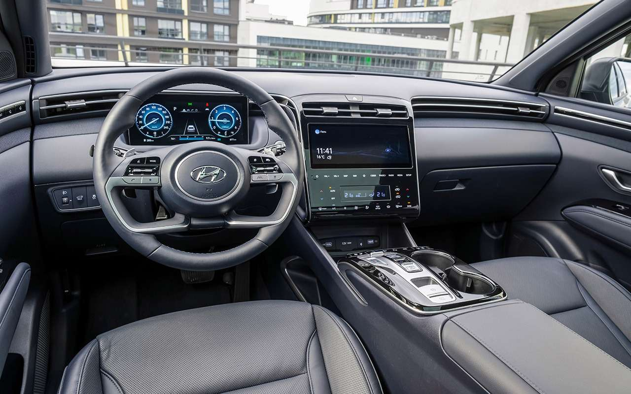 Новый Hyundai Tucson: выбрали оптимальную версию (из25!)— фото 1269642