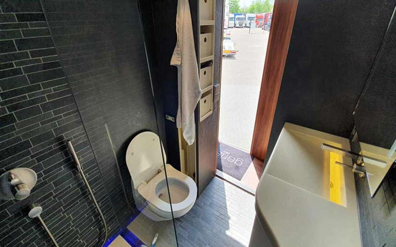 Удивительная автовилла Scania RV— три спальни игараж— фото 1136898