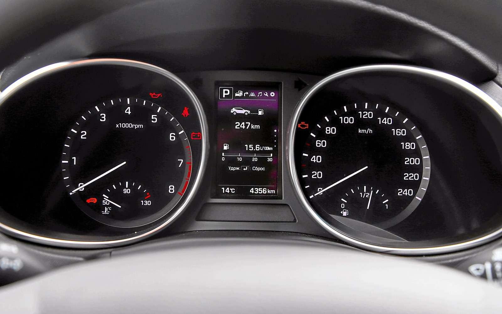 Новый Renault Koleos против конкурентов: буржуа, лесник иленивец— фото 780194