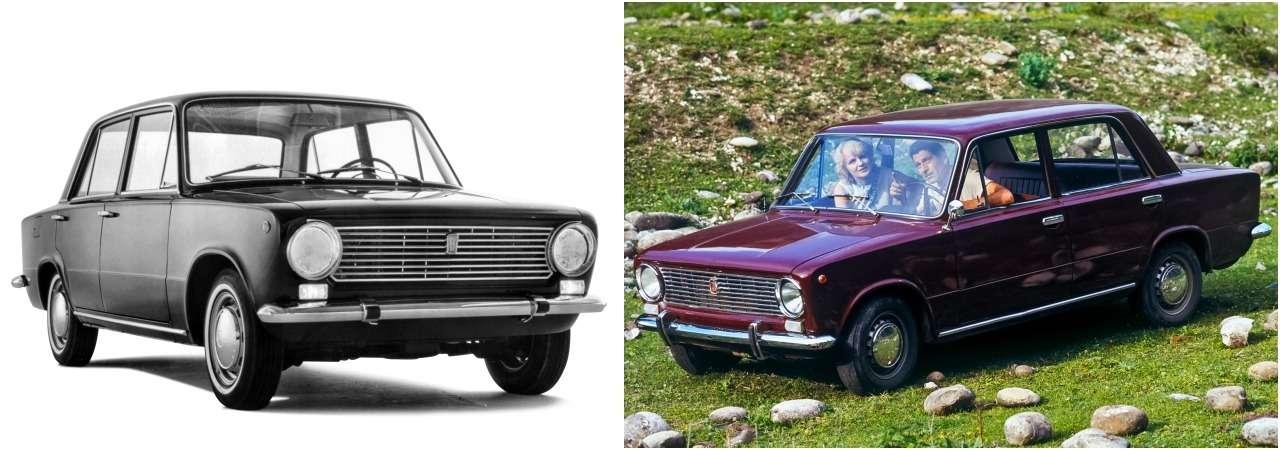 «Копейка»— копия Fiat 124? Ищем десять отличий— фото 900947