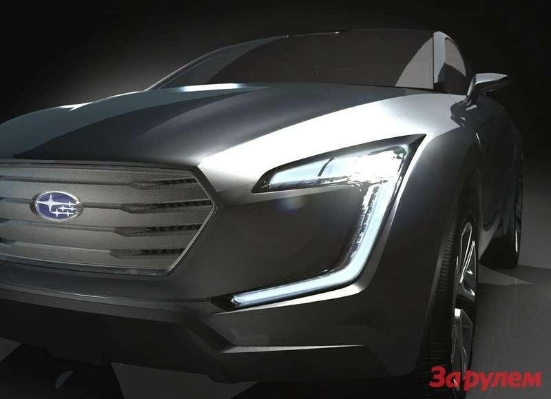 Subaru Viziv Concept teaser
