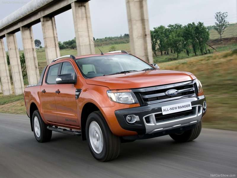 no copyright Ford Ranger Wildtrak 2012