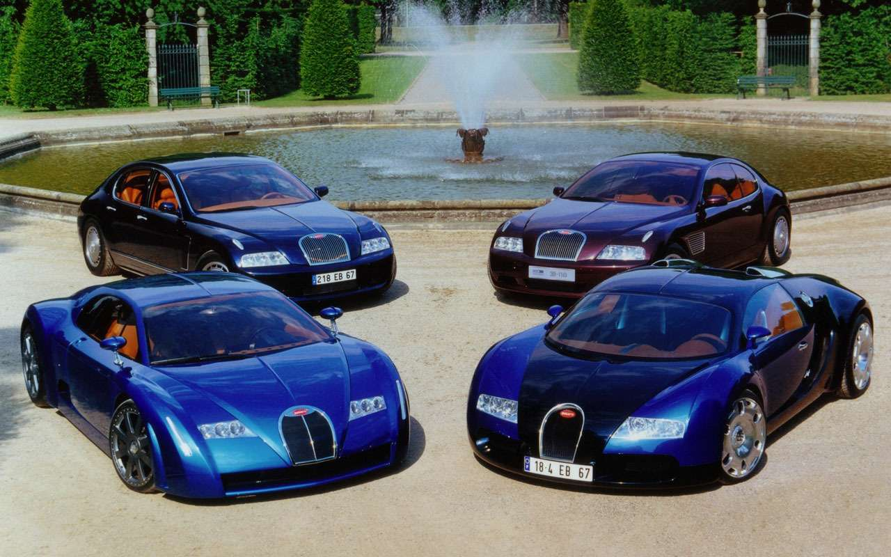 Всеначалось срисунка наконверте— краткая история Bugatti Veyron— фото 1117492