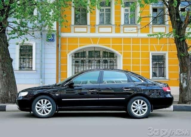 Hyundai Grandeur: Высоко сижу— фото 65844
