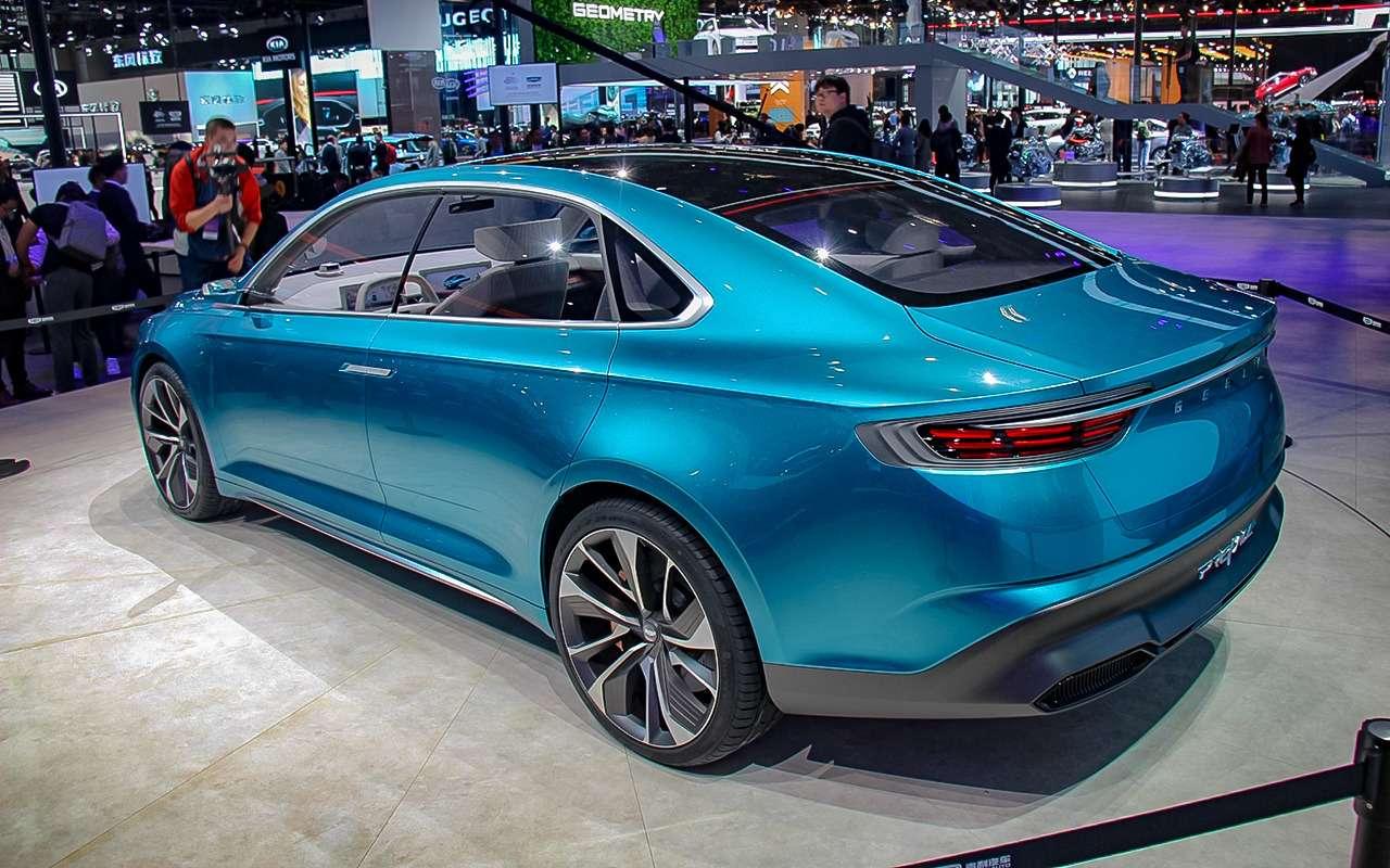 Geely представила вШанхае концептуальный седан PREFACE— фото 967214