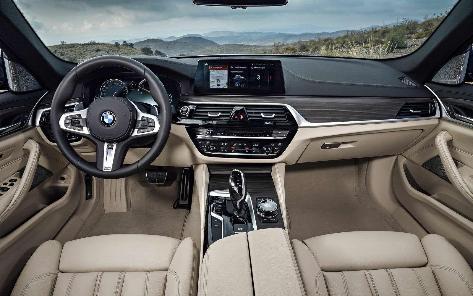 Новая «пятерка» BMW— теперь искузовом универсал— фото 701202
